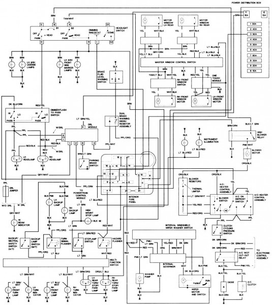 1994 Acura Integra Wiring Diagram