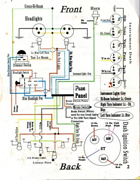 Ezgo Txt Wiring Diagram