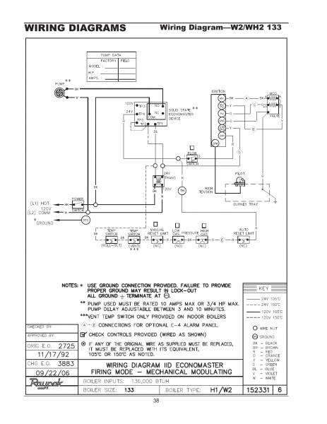Raypak Wiring Diagram