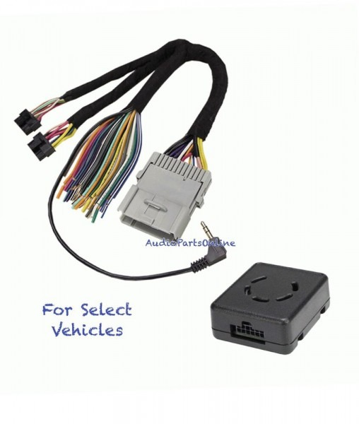 Amp Bose No Bose Chimes Car Stereo Wire Harness Adapter Interface