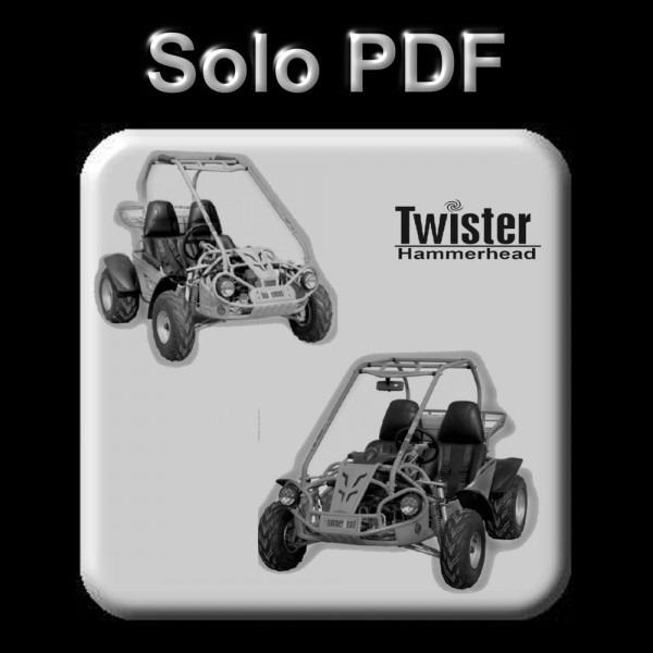 Hammerhead Twister Buggy 150, 200 & 250 Cc