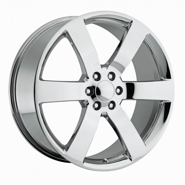 New 4 Set 22  Chrome Trailblazer Ss Chevy 1500 Gm Silverado
