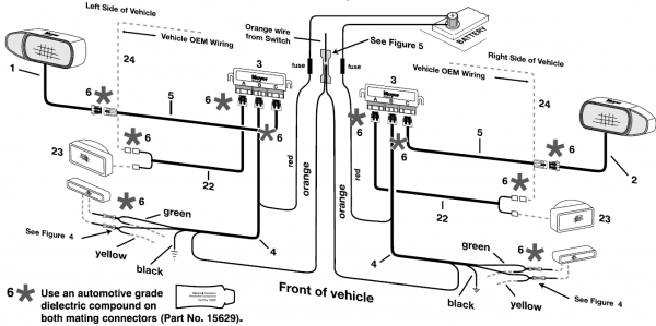 Meyers Snow Plow Light Wiring Diagram