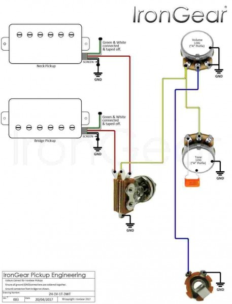 Pj Bass Wiring Diagram