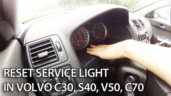 Volvo Reset Service Reminder Indicator