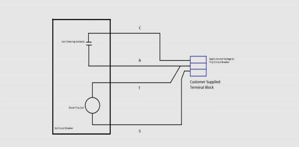 Shunt Trip Wiring Diagram