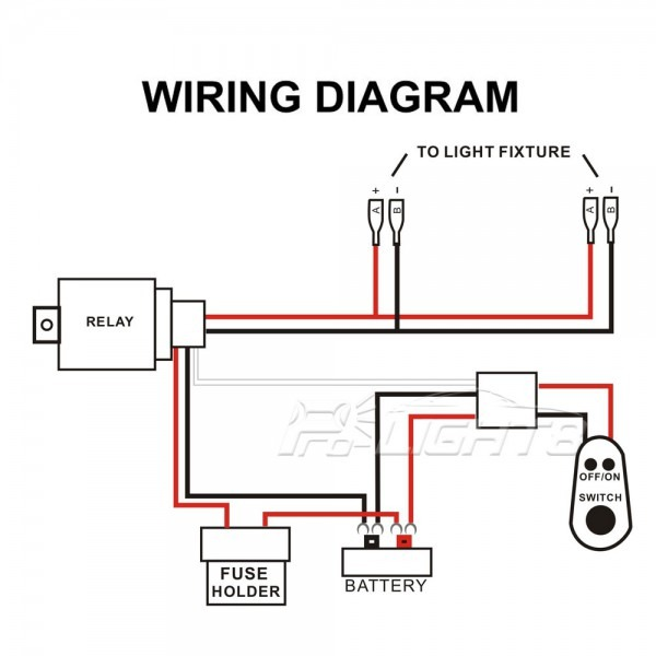 Wiring Diagram For Work Light
