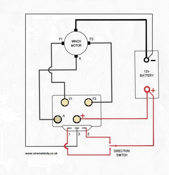 Superwinch 8000 Wiring Diagram