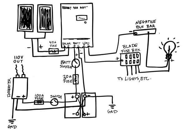 Internet Found The Exact Schematic I Used To Wire My Offroad