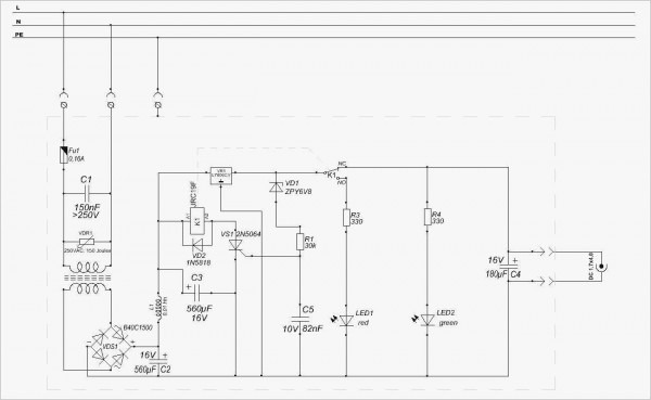 Tattoo Power Supply Schematic For Wiring
