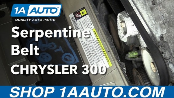 How To Put On A Serpentine Belt Diagram