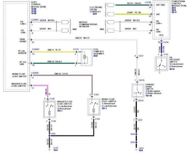 Taurus Fan Wiring Diagram