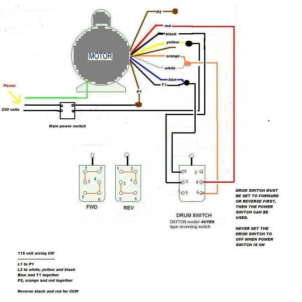 Leeson Motor Wire