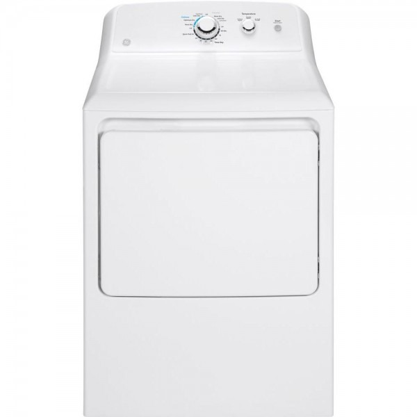 Ge 7 2 Cu  Ft  240 Volt White Electric Vented Dryer