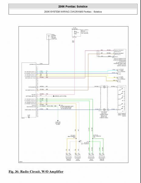 Pontiac Vibe Dash Wiring Diagram