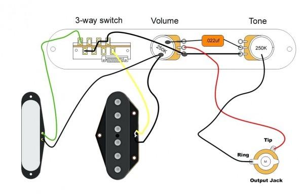 Telecaster Hs Wiring Diagram