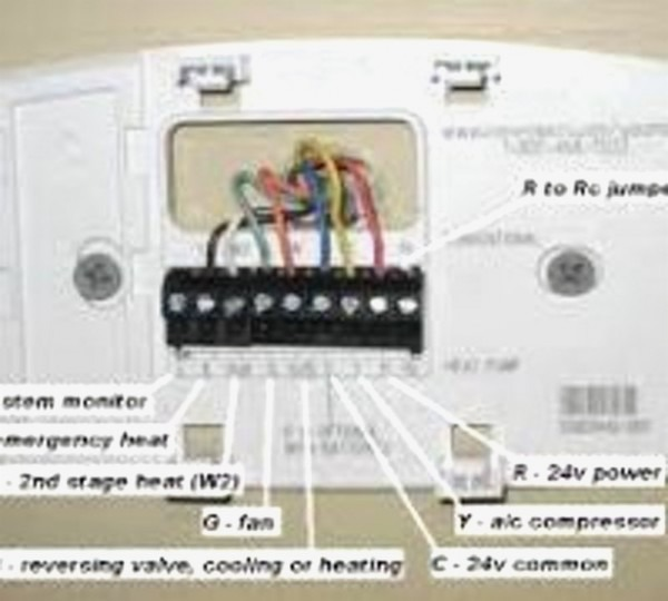 Wiring Diagram Honeywell Thermostat