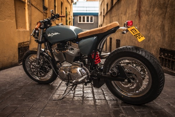 Xtr Pepo Gets Handy With New Custom 1992 Harley