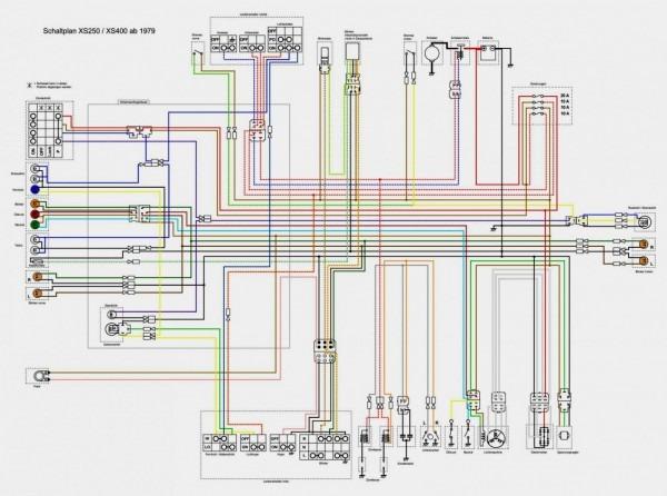 Wiring Diagram Yamaha Xs400