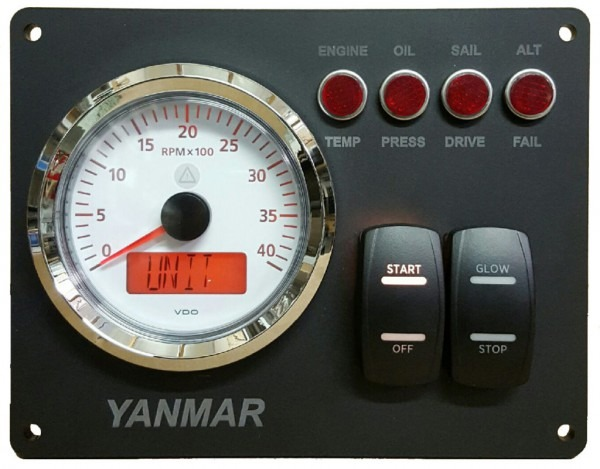 Yanmar B Type Instrument Panel Wiring Diagram