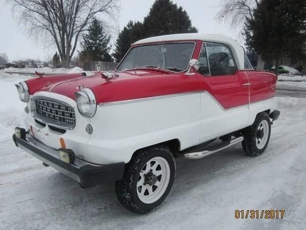 Funky 4wd  1961 Nash Metropolitan 4x4