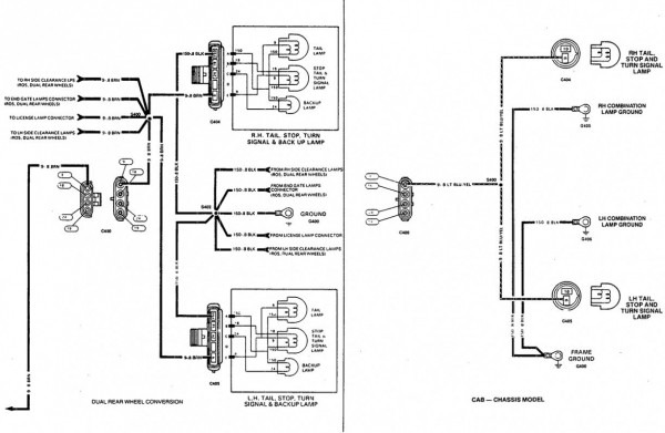 Saab Tail Light Wiring