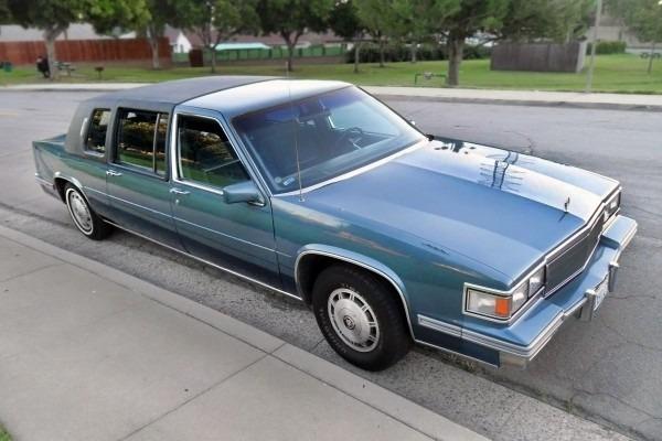 $3,995 Limo  1986 Cadillac Fleetwood 75