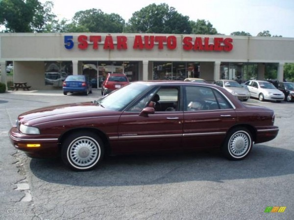 1997 Bordeaux Red Pearl Buick Lesabre Limited  13083542