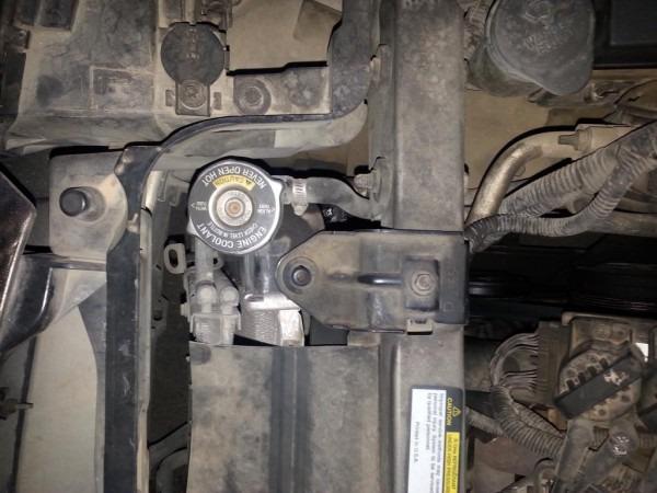 2001 Buick Lesabre Radiator Transmission Line Leak