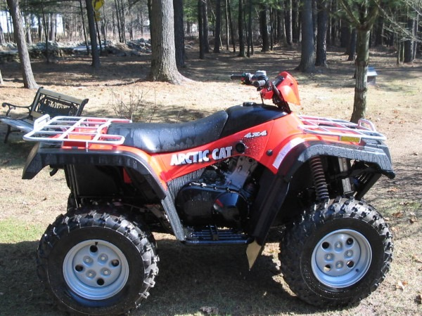 Help With 2004 Arctic Cat Automatic