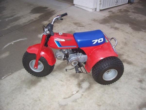 1983 Honda Atc70 For Sale