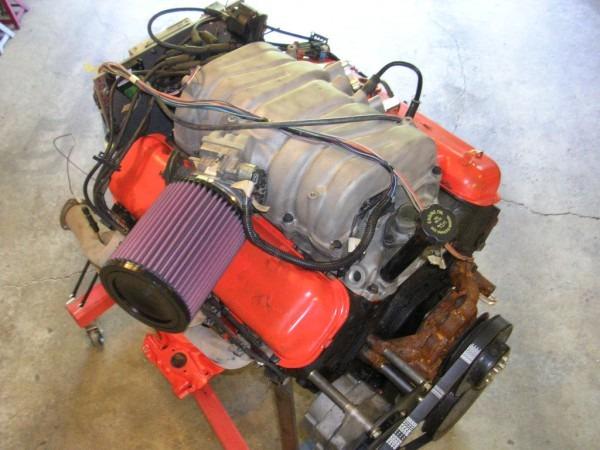 91' 454 Chevy Truck Engine