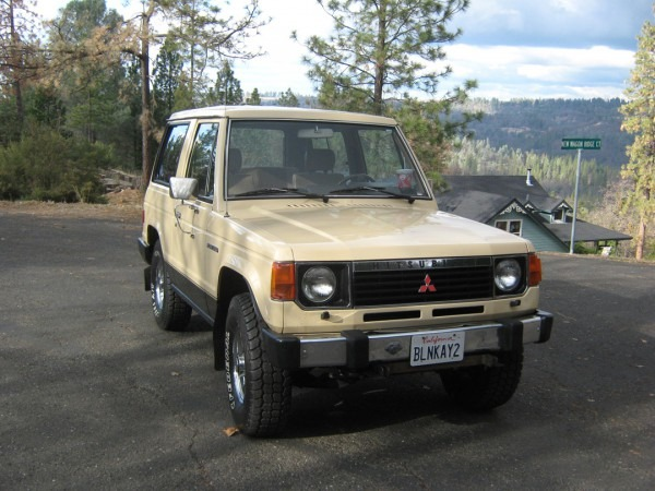 Billyboy80 1987 Mitsubishi Montero Specs, Photos, Modification