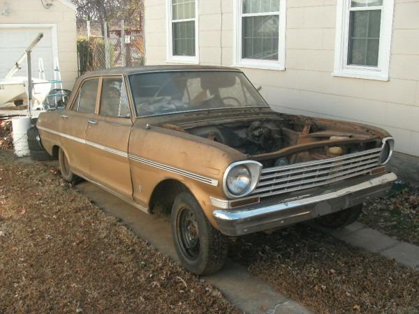 Rustingmusclecars Com » Blog Archive » 1963 Nova Chevy Ii