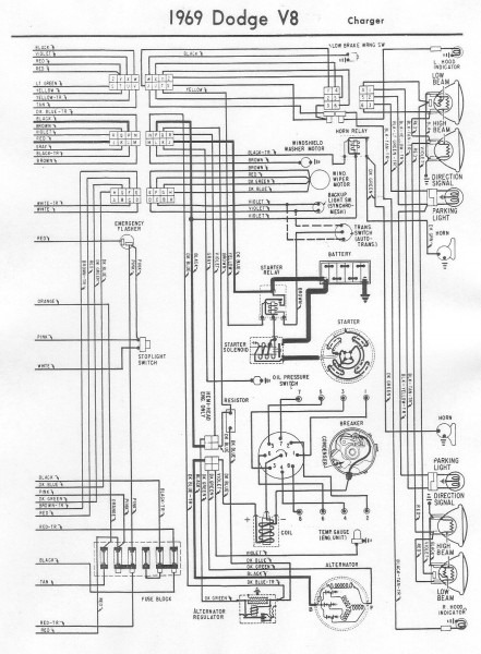 Tail Light Wiring For 1969 Dodge Charger Free Image About Wiring