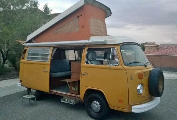 1974 Volkswagen Transporter Westfalia Type 2 Camper Van