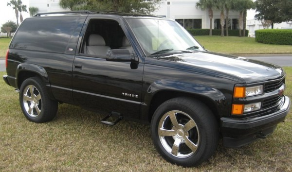1995 Chevy Tahoe 2 Door 4x4 Z71 Photo, Picture, Image On Use Com
