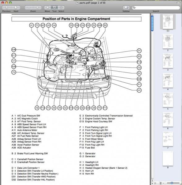 1986 Toyota Headlight Wiring Diagram