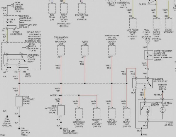 2002 honda odyssey radio wire diagram  u2013 car wiring diagram