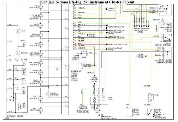 2005 Kia Spectra Wiring Diagram