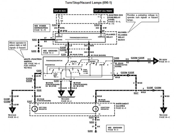 I Need A Wiring Diagram For A 1997 Ford F150 Extended Cab For The
