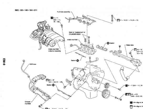 1999 Nissan Maxima Vacuum Hose Diagram