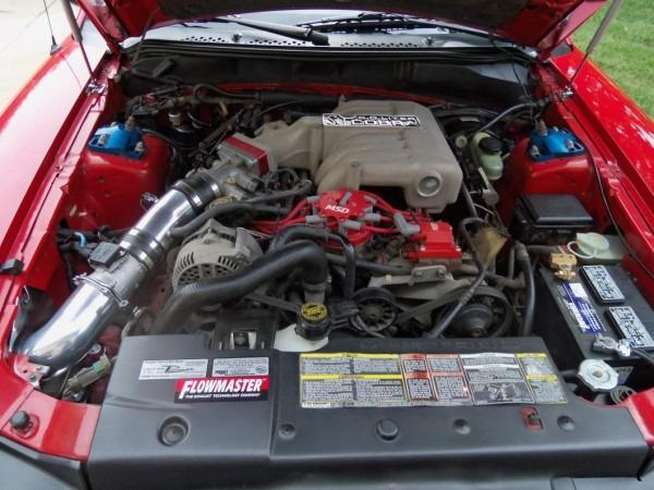 Airaid Mustang Poweraid Throttle Body Spacer 400