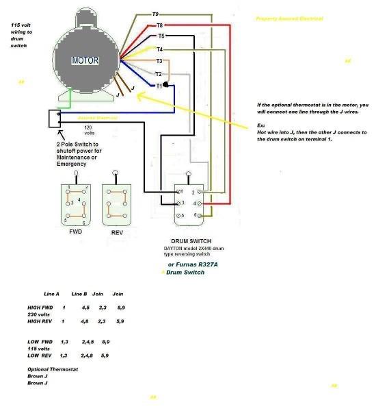 Baldor Motor Schematic