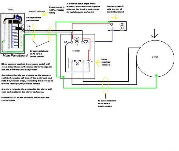 220v Single Phase Wiring