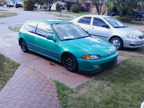 1993 Honda Civic Dx 1 8 Mile Drag Racing Timeslip 0