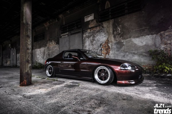 Stanced Del Sol By Allie     Driiive Com Allie