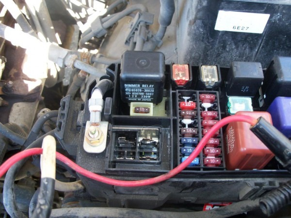 Alternator Fuse  U2013 Car Wiring Diagram