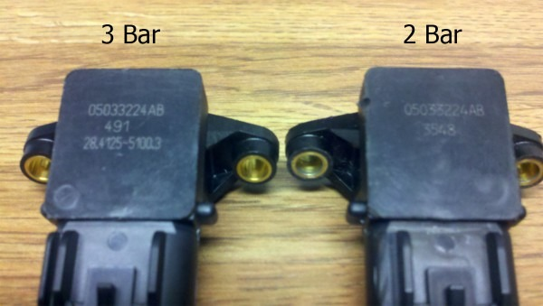 How To Tell The Difference Between 2 Bar And Three Bar Map Sensors