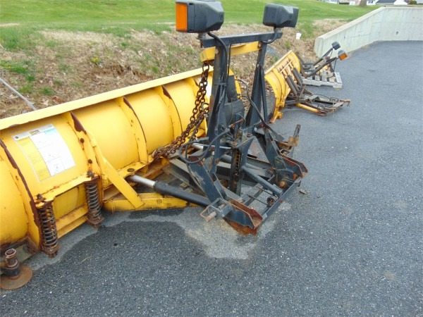 9 Foot, Fisher Minute Mount Snow Plow Online Government Auctions